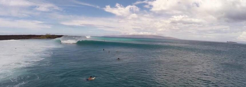 Dumps surf spot Maui